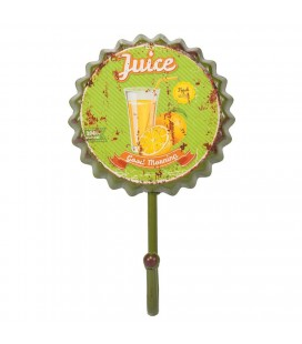 PERCHA DE PARED METAL JUICE