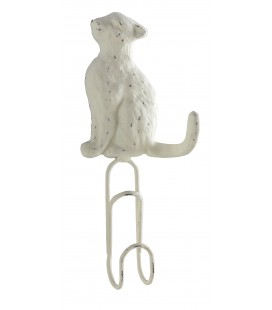 PERCHA DE PARED GATO CLIP