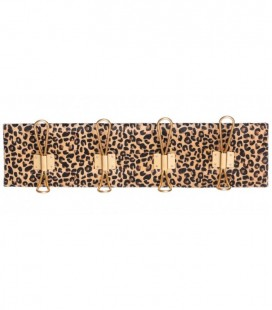 PERCHA DE PARED LEOPARD TEXTIL