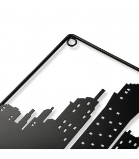 PERCHERO DE PARED SKYLINE METAL